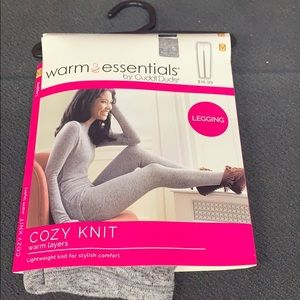 Warm Essentials Cozy Knit Warm Layers Leggings